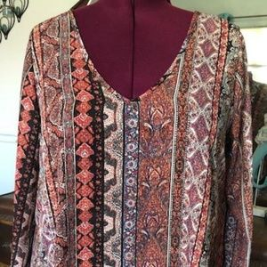 1X Living Doll Tunic!  Nice and Long!